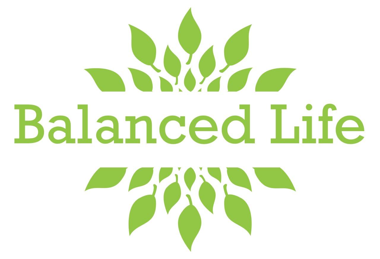 Wellness Leaves Green Circular
