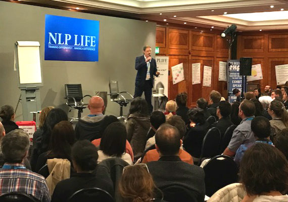 John training practioners in the UK at NLP Life